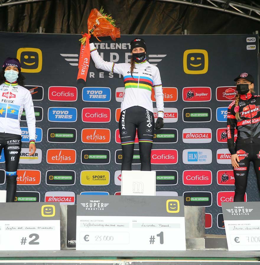 Wereldkampioene Brand domineerde de Telenet Superprestige